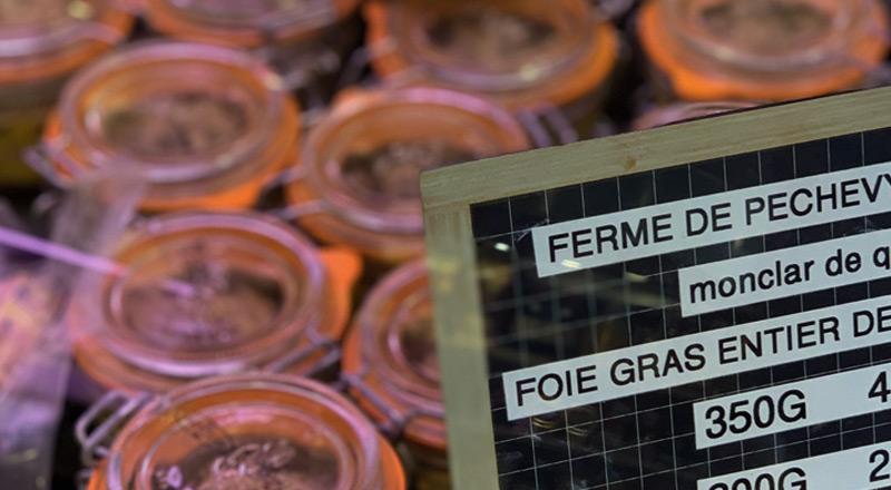 conserves de foie gras