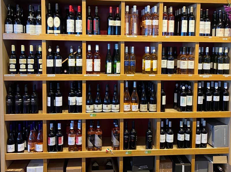 bnegali produits vin